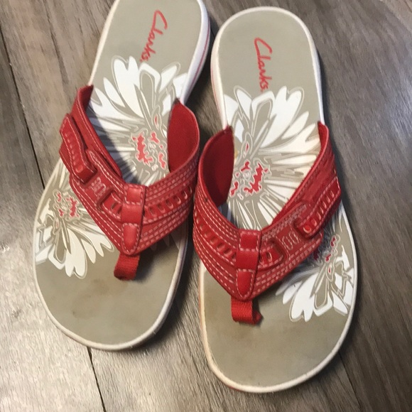 7e516f756 Clarks Shoes | Women Breeze Sea Flip Flop | Poshmark